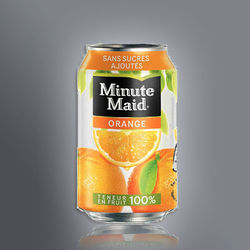 Canette Minute Maid Orange